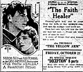 The Faith Healer (1921) - Ad 1.jpg