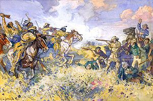 Battle of Seven Oaks - Image: The Fight at Seven Oaks