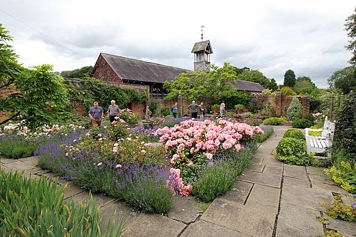 The Flag Garden at Arley Hall-geograph-4567863-by-Jeff-Buck