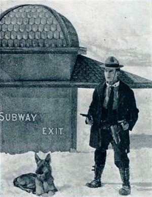 The Frozen North - Still from the film opening