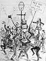 The Great Anti-Annexation demonstration in Parkdale. (As it was to have been) (Bengough cartoon 1888-11-03).jpg