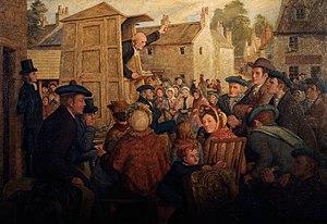 Communion season - The Holy Fair, by Robert Bryden