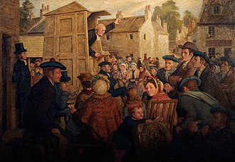 Communion season - The Holy Fair, by Robert Bryden
