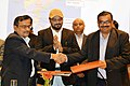 The Joint Secretary, Department of Heavy Industries, Shri N. Sivanand and the Director, IIT, Kharagpur.jpg
