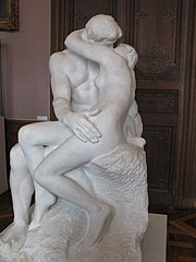 Auguste Rodin's The Kiss.