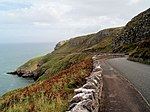 The Marine drive on the Great Orme Pretty well deserted today. Vehicles go anti clockwise around the toll road.