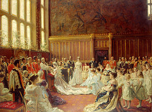 Chapel Royal - Marriage of the future King George V in the Chapel Royal, St James's Palace