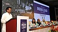 The Minister of State for Rural Development, Panchayati Raj, Drinking Water and Sanitation, Shri Upendra Kushwaha delivering the special address at the launch of the National Convention on Skills for the Rural & Urban Poor.jpg