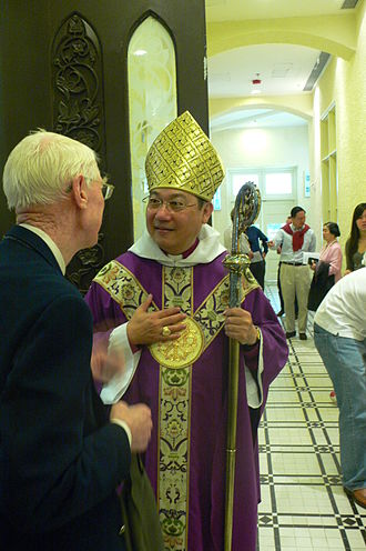 Episcopal polity - Paul Kwong, Anglican Archbishop and Primate of Hong Kong