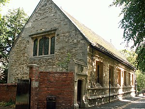 The King's School, Grantham - The original Kings School building.