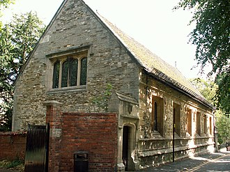 The King's School, Grantham - The original Kings School building.