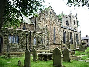 Oswaldtwistle - Image: The Parish Church of Immanuel, Oswaldtwistle geograph.org.uk 559861