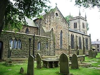 Oswaldtwistle village within the Hyndburn borough of Lancashire, England