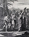 The Phillip Medhurst Picture Torah 178. Joseph sold to the Ishmaelites. Genesis cap 37 v 28. Caspar Luyken.jpg