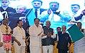 The President, Shri Pranab Mukherjee dedicating the Metro Phase-I Project to the citizens of Bengaluru by flagging off, at a function, at Vidhana Soudha, in Bengaluru, Karnataka.jpg