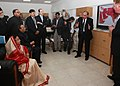 """The President, Smt. Pratibha Devisingh Patil visited """"International Centre for Agriculture Research in the Dry Area"""" (ICARDA), at Aleppo, Syria on November 29, 2010.jpg"""