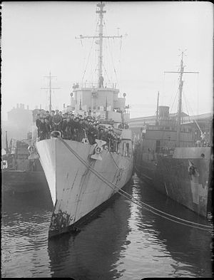 The Royal Navy during the Second World War A27205