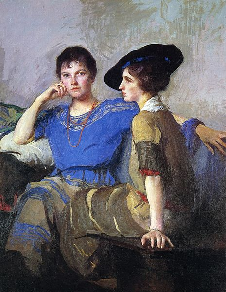 File:The Sisters Edmund Tarbell.jpeg