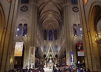 The Start of Christmas Eve Service in Notre Dame de Paris, 2013.jpg