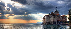 The Sun Sets on Château de Chillon (2).jpg