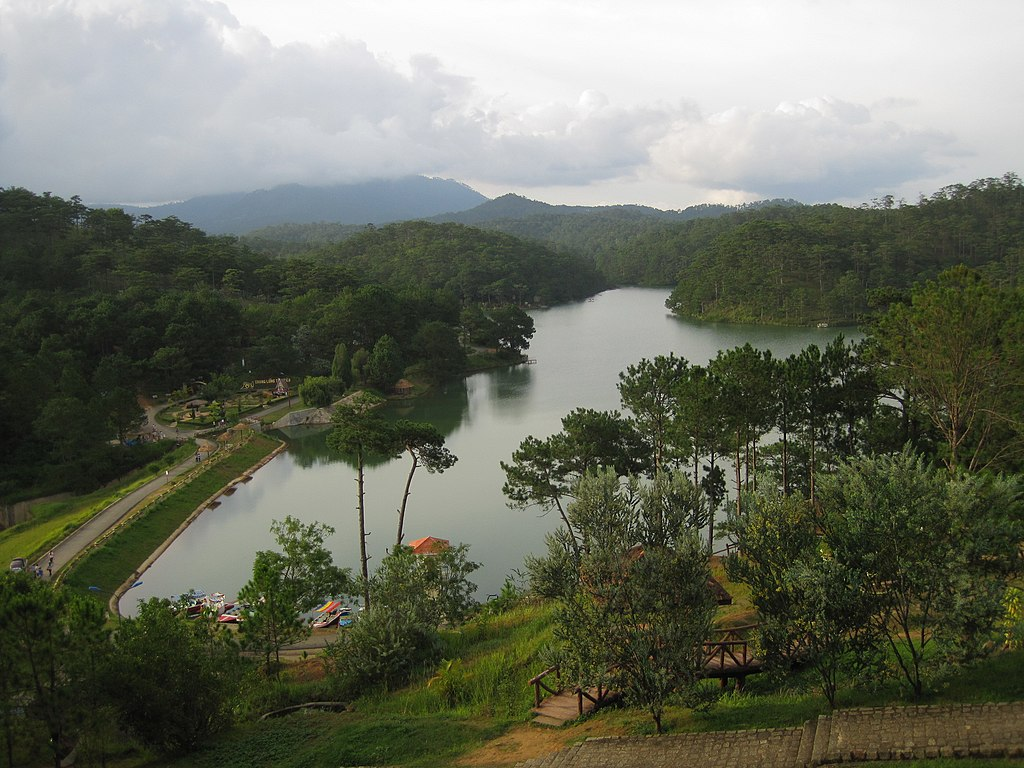 The Valley of Love in Dalat, Vietnam