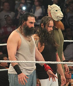 The Wyatt Family in April 2014