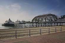 The amusement arcade at eastbourne pier is but a shell (14814811863).jpg