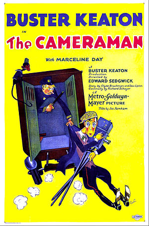 The Cameraman - Theatrical poster