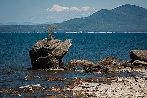 Baikalia - Image: The eastern coast of Lake Baikal