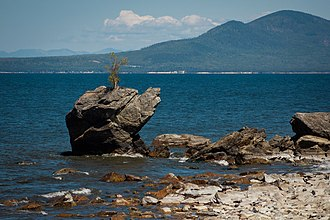 Baikalia - Image: The eastern coast of Lake Baikal
