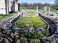 The imposing basilica next to the Forum and its gagantic pillars, also known as Basilica B, Philippi (7272698484).jpg