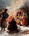 The poor of Moscow warming themselves at street fires in winter.jpg