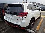 The rearview of Subaru FORESTER X-BREAK (5BA-SK9).jpg
