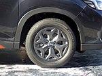 The tire wheel of Subaru FORESTER X-BREAK (5BA-SK9).jpg