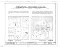 Theodore Moreno House, 300 East Government Street, Pensacola, Escambia County, FL HABS FLA,17-PENSA,16- (sheet 1 of 4).png