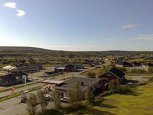 Kautokeino - View of the village of Kautokeino