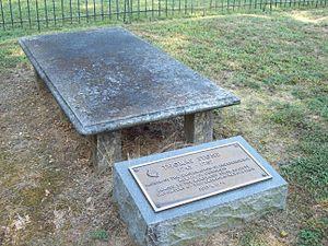 Thomas Stone - Grave of Thomas Stone, September 2009