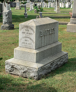Thomas W. Bartley - Grave of Thomas W. Bartley.