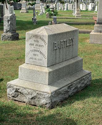 Thomas W. Bartley - Grave of Thomas W. Bartley.