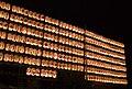 Thousand lights of Cock Festival at Hanazono Shrine in Japan.jpg