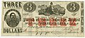 Three Confederate Dollars St John the Baptist Parish Louisiana 1862.jpg