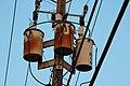 Three Duke Energy Transformers along Eight Avenue SW in Largo Florida.JPG