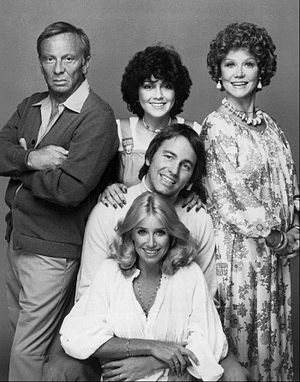 Three's Company - Image: Threes Company full cast 1977