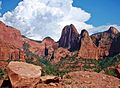 Thunderhead over Kolob Canyon, UT 8-12 (25450362256).jpg