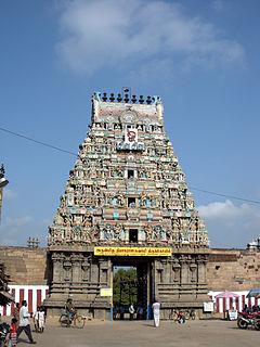 Tiruvottiyur Neighbourhood in Chennai, Tamil Nadu, India