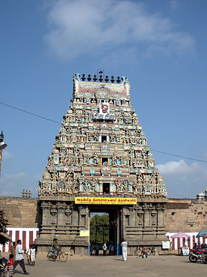 Tiruvottiyur - Thiyagarajaswamy Temple Rajagopuram