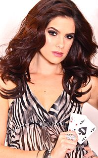 Tiffany Michelle American actress, writer, television host, and poker player