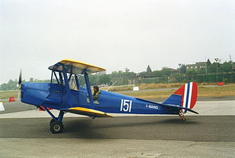 Royal Norwegian Air Force - DH.82A Tiger Moth in Royal Norwegian Air Force markings