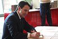 Tim Pawlenty signing book.jpg