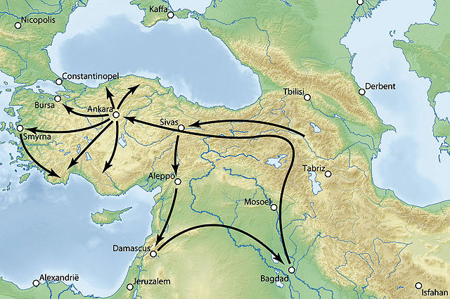 Поход Тимура на Османскую империю